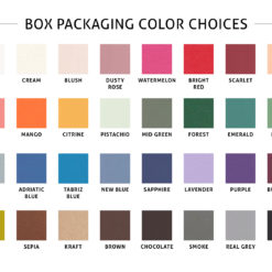 Box Packaging Colors