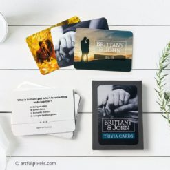 Custom Wedding Trivia Cards