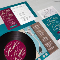 Music Wedding Invitation Suite