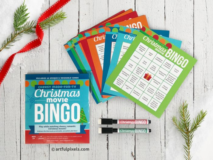 Christmas Movie Bingo - Stocking Stuffer Edition