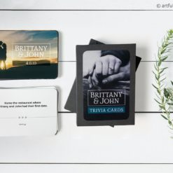 Wedding Trivia Card Stationery