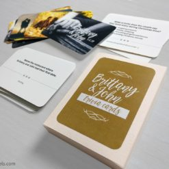 Custom Wedding Trivia Cards