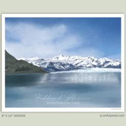 Hubbard Glacier, Alaska - 8x10