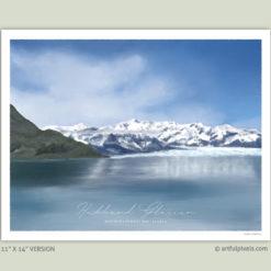 Hubbard Glacier, Alaska - 11x14