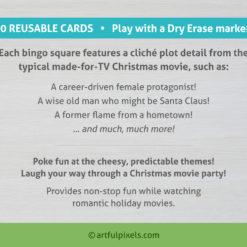 Made-for-TV Christmas Movie Bingo cards