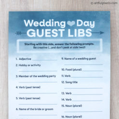 Wedding Guest Libs cards
