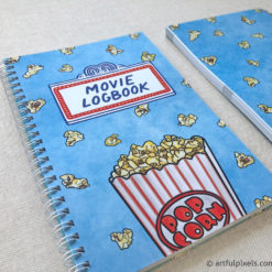 Movie review notebook