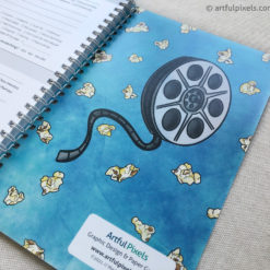 Movie Review Journal, inside back cover design