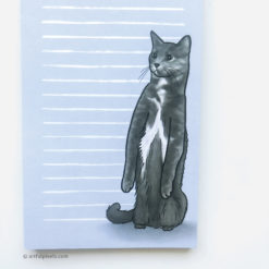 To Do List Cat Notepad