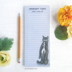 Funny Mere Cat Notepad